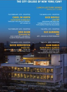 Roofpod Lecture poster
